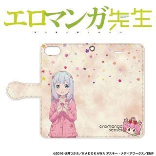 【iPhone SE/5s/5ケース】エロマンガ先生 手帳型ケース iPhone SE/ 5s / 5