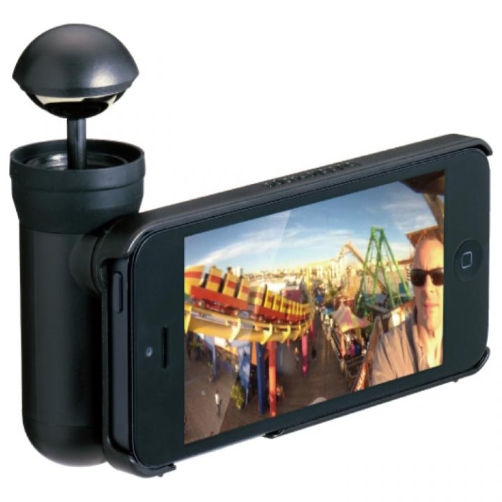 【iPhone SE/5s/5ケース】【50%OFF】『bubblescope』 iPhone5専用360°パノラマ撮影キット_0