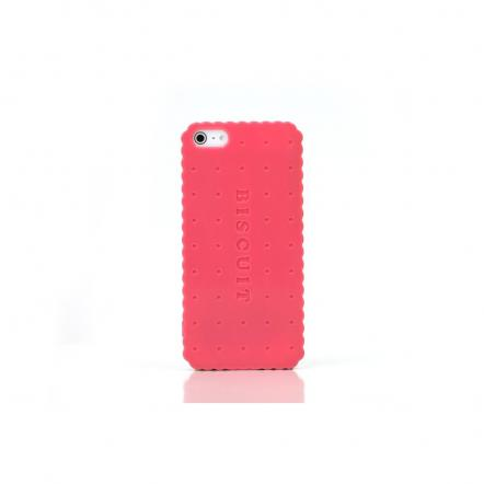 """Sweets Case  iPhone5 """"Biscuit Hard"""" ピンク"""