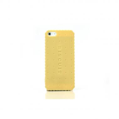 """Sweets Case  iPhone SE/5s/5 """"Biscuit Hard"""" ベージュ"""