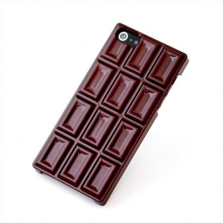 Sweets Case  iPhone SE/5s/5 Chocolate Hard' ブラウン'