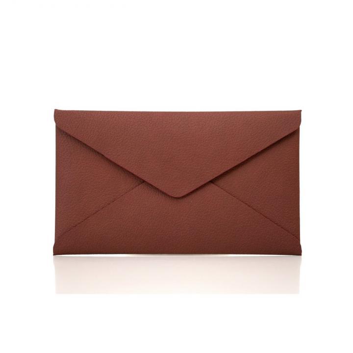 【iPhone SE/5s/5ケース】Envelope Case  iPhone5 ブラウン_0