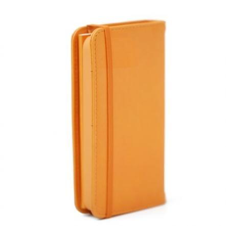 Premium Case  iPhone5 手帳型ケース オレンジ