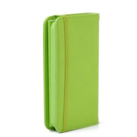 Premium Case  iPhone SE/5s/5 手帳型ケース グリーン