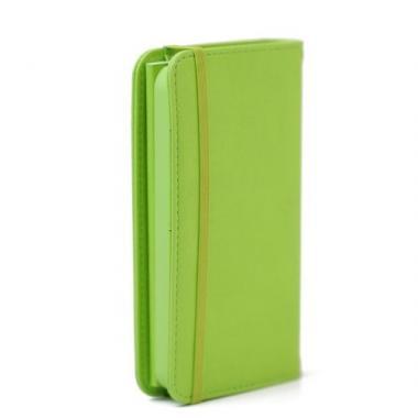 【iPhone SE/5s/5ケース】Premium Case  iPhone SE/5s/5 手帳型ケース グリーン