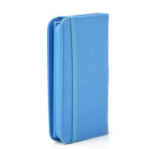 Premium Case  iPhone5 手帳型ケース ブルー