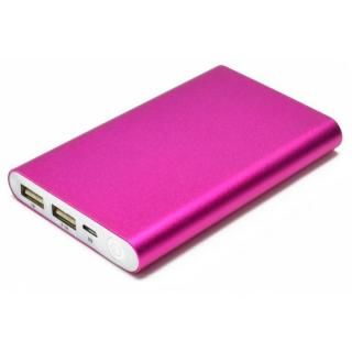 [8000mAh]Mobile Power Bank モバイルバッテリー ピンク