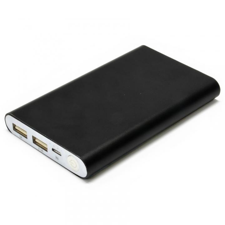 [8000mAh]Mobile Power Bank モバイルバッテリー ブラック_0