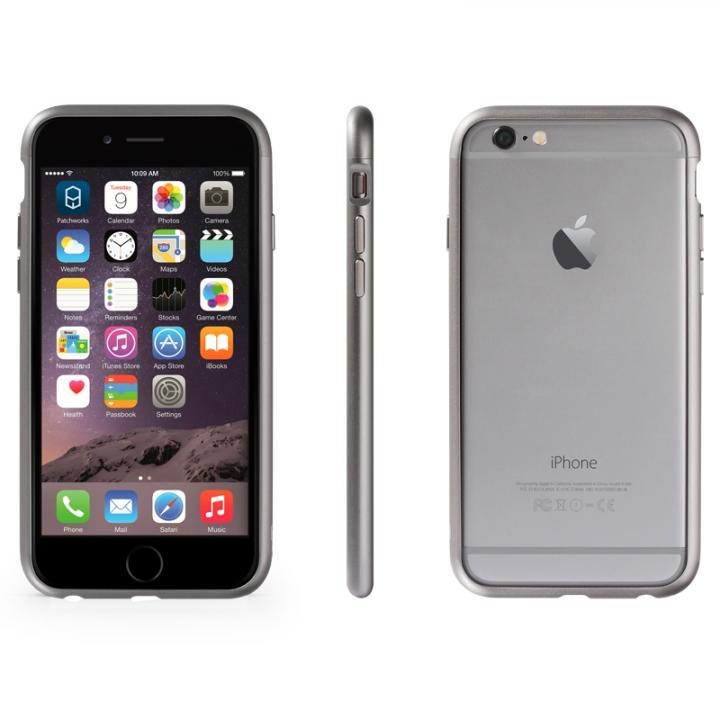 【iPhone6ケース】アルミバンパー Alloy X グレイ iPhone 6_0