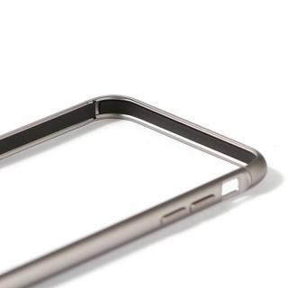 【iPhone6ケース】アルミバンパー Alloy X グレイ iPhone 6_6