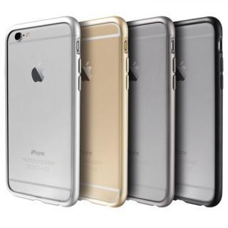 【iPhone6ケース】アルミバンパー Alloy X グレイ iPhone 6_7