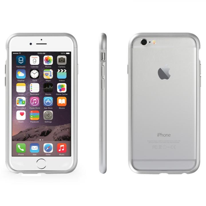 iPhone6 ケース アルミバンパー Alloy X シルバー iPhone 6_0