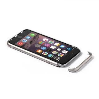 【iPhone6ケース】アルミバンパー Alloy X シルバー iPhone 6_7