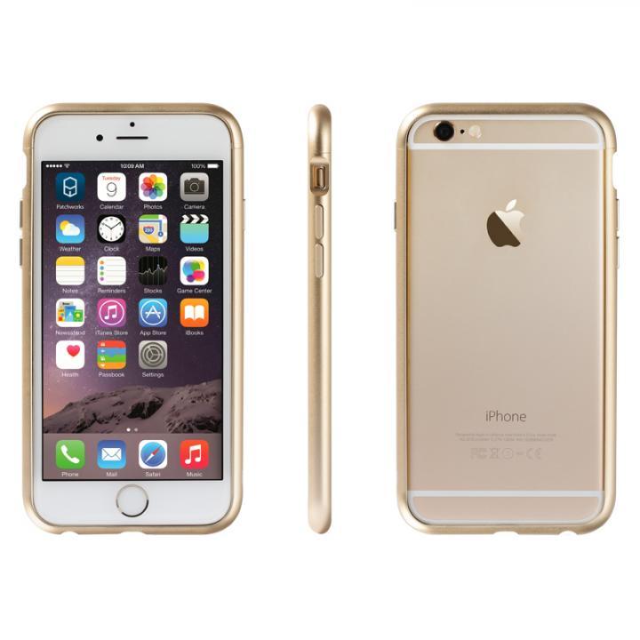 iPhone6 ケース アルミバンパー Alloy X ゴールド iPhone 6_0