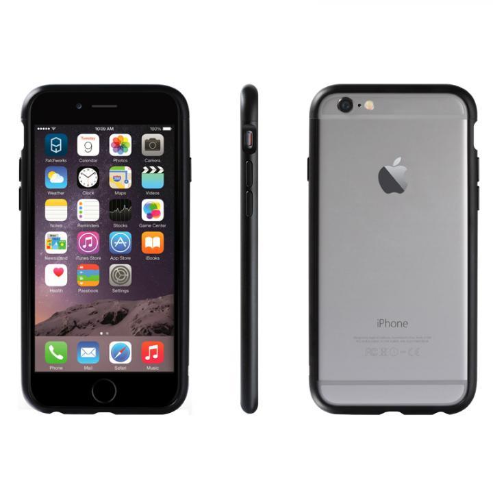 iPhone6 ケース アルミバンパー Alloy X ブラック iPhone 6_0