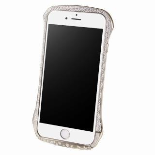 iPhone6 ケース DRACO design スワロフスキー アルミバンパー シルバー iPhone 6