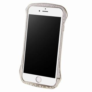DRACO design スワロフスキー アルミバンパー シルバー iPhone 6