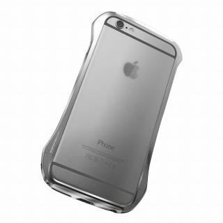 【iPhone6ケース】DRACO design Hand Polish アルミバンパー グレイ iPhone 6_1
