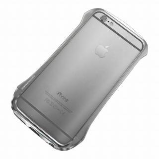 【iPhone6ケース】DRACO design Hand Polish アルミバンパー グレイ iPhone 6_2