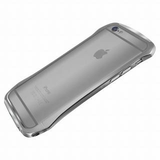 【iPhone6ケース】DRACO design Hand Polish アルミバンパー グレイ iPhone 6_3