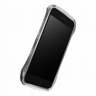 【iPhone6ケース】DRACO design Hand Polish アルミバンパー グレイ iPhone 6_6