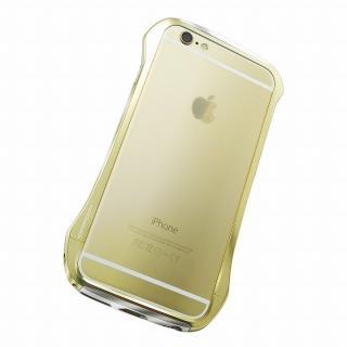 【iPhone6ケース】DRACO design Hand Polish アルミバンパー ゴールド iPhone 6_1