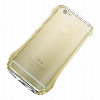 【iPhone6ケース】DRACO design Hand Polish アルミバンパー ゴールド iPhone 6_2