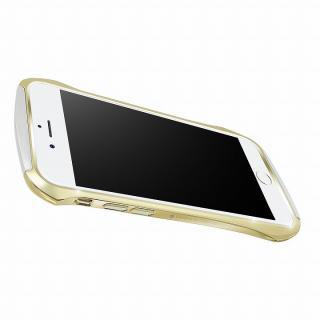 【iPhone6ケース】DRACO design Hand Polish アルミバンパー ゴールド iPhone 6_4