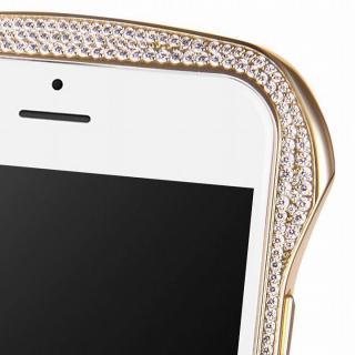 【iPhone6ケース】DRACO design スワロフスキー アルミバンパー ゴールド iPhone 6_1