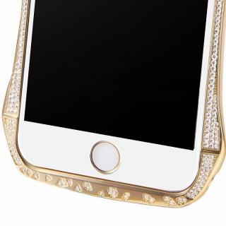 【iPhone6ケース】DRACO design スワロフスキー アルミバンパー ゴールド iPhone 6_2