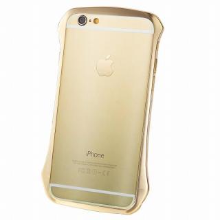 【iPhone6ケース】DRACO design スワロフスキー アルミバンパー ゴールド iPhone 6_5
