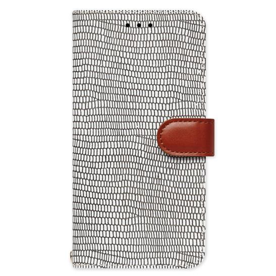 天然牛革手帳型ケース Viola モノクローム iPhone 6
