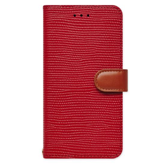 iPhone6s Plus/6 Plus ケース 天然牛革手帳型ケース Viola レッド iPhone 6s Plus/6 Plus_0