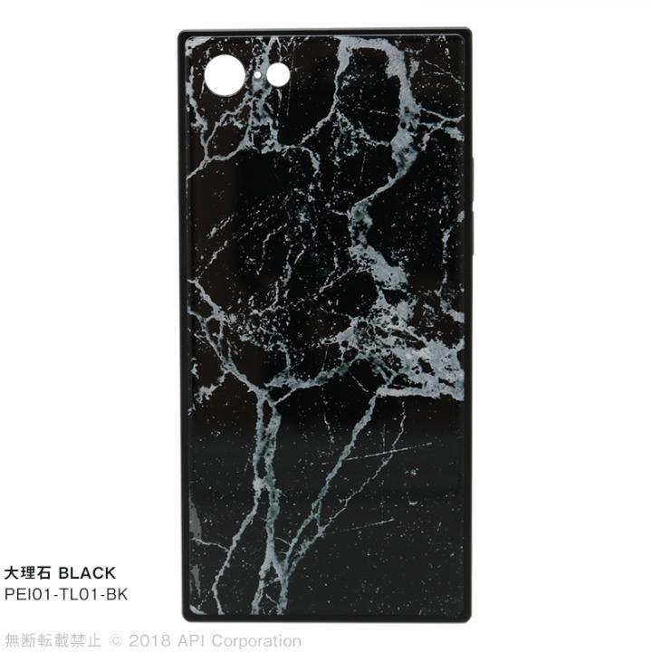 【iPhone8/7ケース】EYLE TILE iPhoneケース 大理石/ブラック iPhone 8/7_0