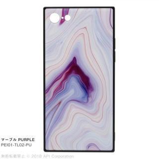 iPhone8/7 ケース EYLE TILE iPhoneケース マーブル/パープル iPhone 8/7