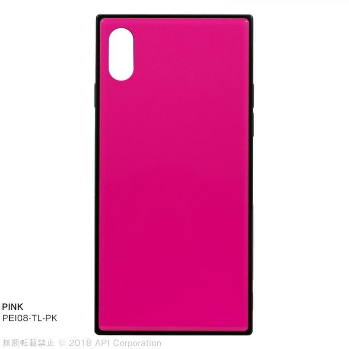 【iPhone XS/Xケース】EYLE TILE iPhoneケース ピンク iPhone XS/X_0