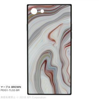 EYLE TILE iPhoneケース マーブル/ブラウン iPhone 8/7