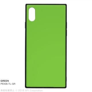iPhone XS/X ケース EYLE TILE iPhoneケース グリーン iPhone XS/X