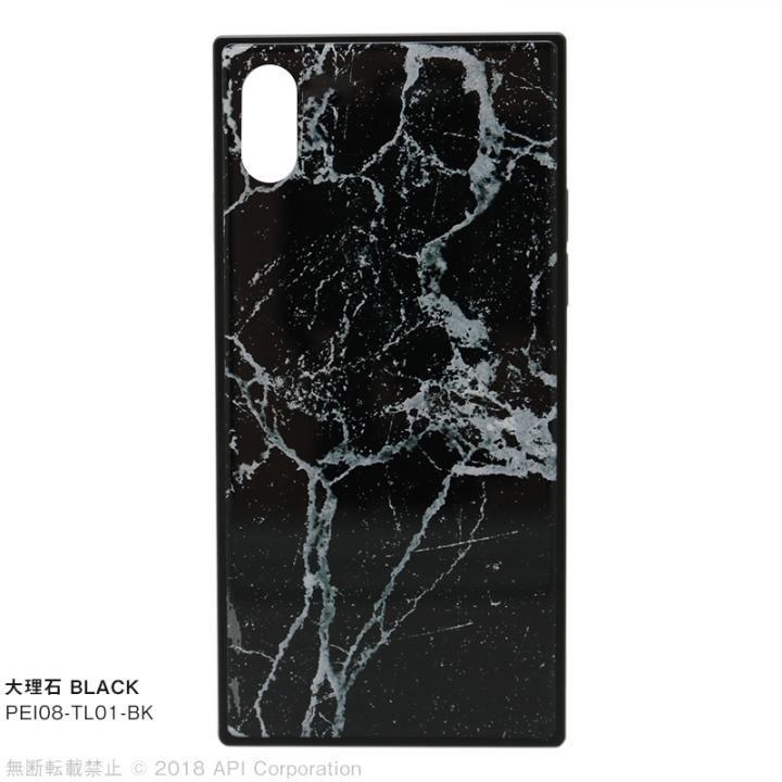 iPhone XS/X ケース EYLE TILE iPhoneケース 大理石/ブラック iPhone XS/X_0