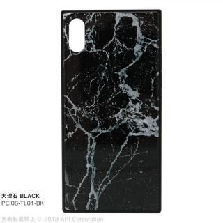 【iPhone XSケース】EYLE TILE iPhoneケース 大理石/ブラック iPhone XS/X