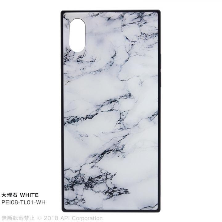 iPhone XS/X ケース EYLE TILE iPhoneケース 大理石/ホワイト iPhone XS/X_0
