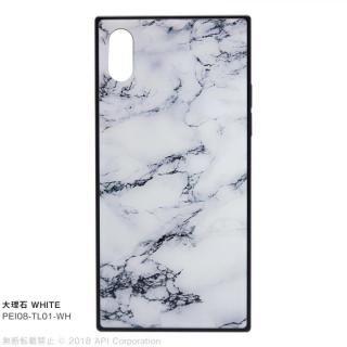 iPhone XS/X ケース EYLE TILE iPhoneケース 大理石/ホワイト iPhone XS/X