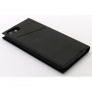 【iPhone7/6s/6ケース】小窓付き手帳型ケース CONQUISTADOR WISDOM ブラック iPhone 7/6s/6_4