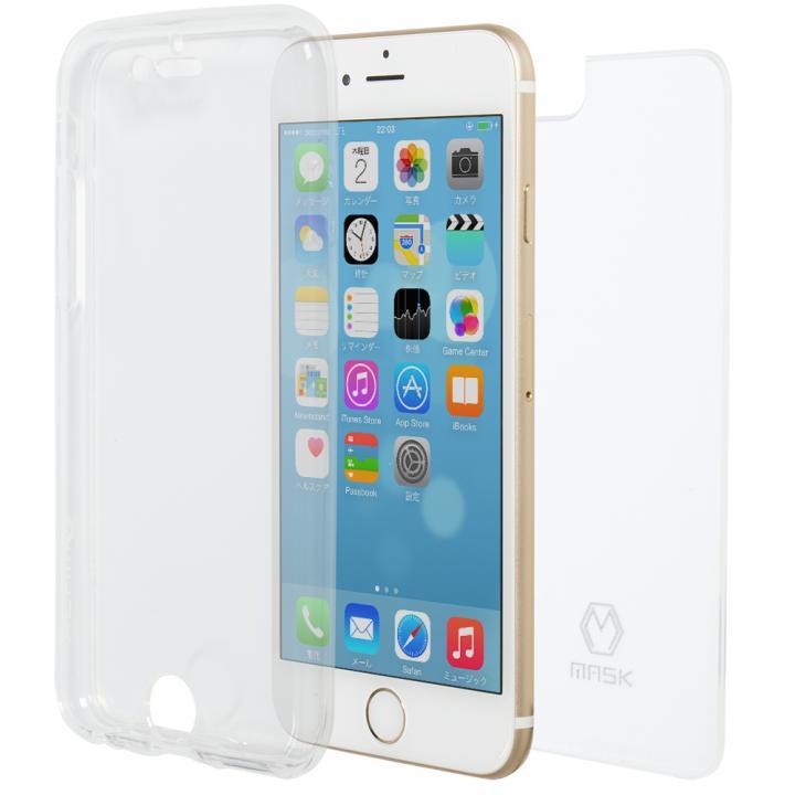 フルカバー TPU クリアケース iPhone 6s Plus