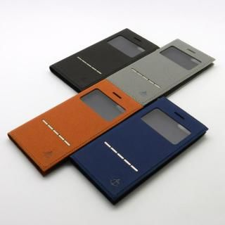 【iPhone7/6s/6ケース】小窓付き手帳型ケース CONQUISTADOR WISDOM ブラック iPhone 7/6s/6_5
