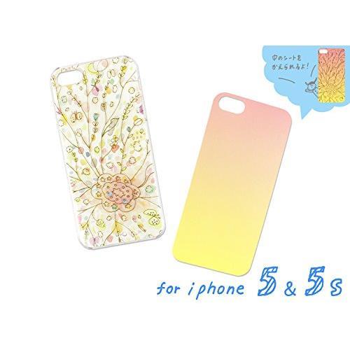iPhone SE/5s/5 ケース AIUEO ハードケース HAPPY GARDEN iPhone SE/5s/5_0