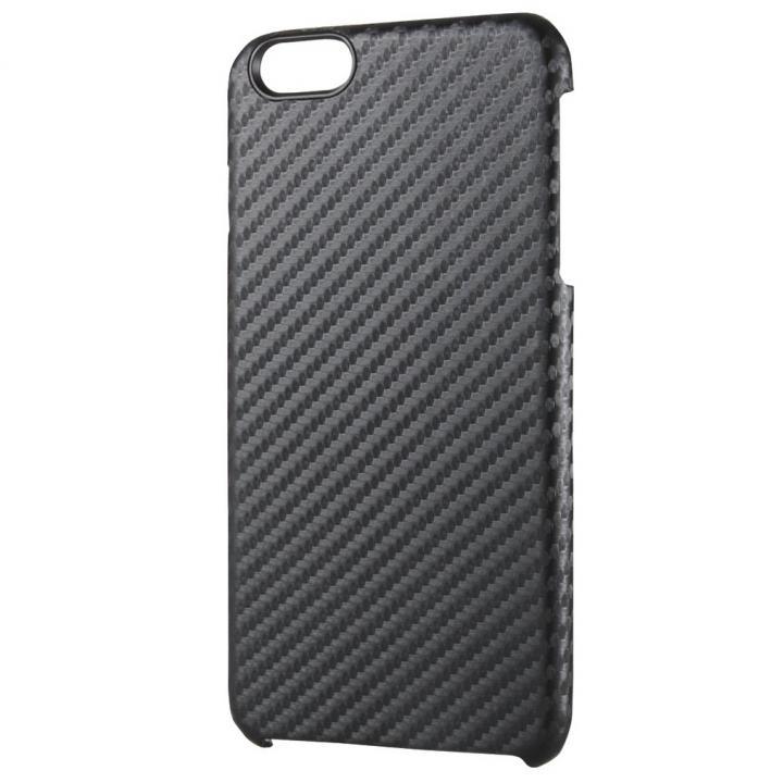 カーボン調 ハードケース ブラック iPhone 6 Plus