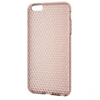 iPhone6 Plus ケース ダイアモンドカットラメ ソフトケース ゴールド iPhone 6 Plus