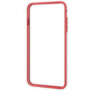 ハイブリッドバンパー レッド iPhone 6 Plus