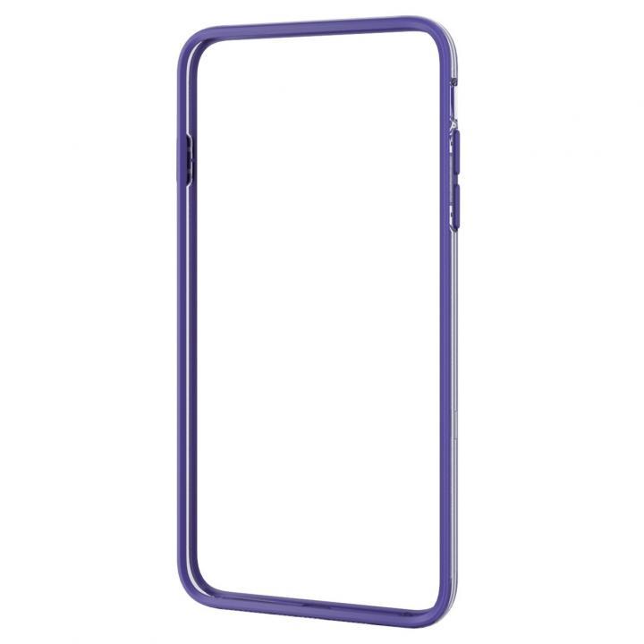 ハイブリッドバンパー パープル iPhone 6 Plus